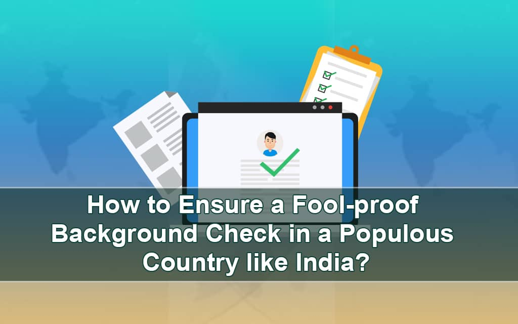 Pre-employment Background Checks in India