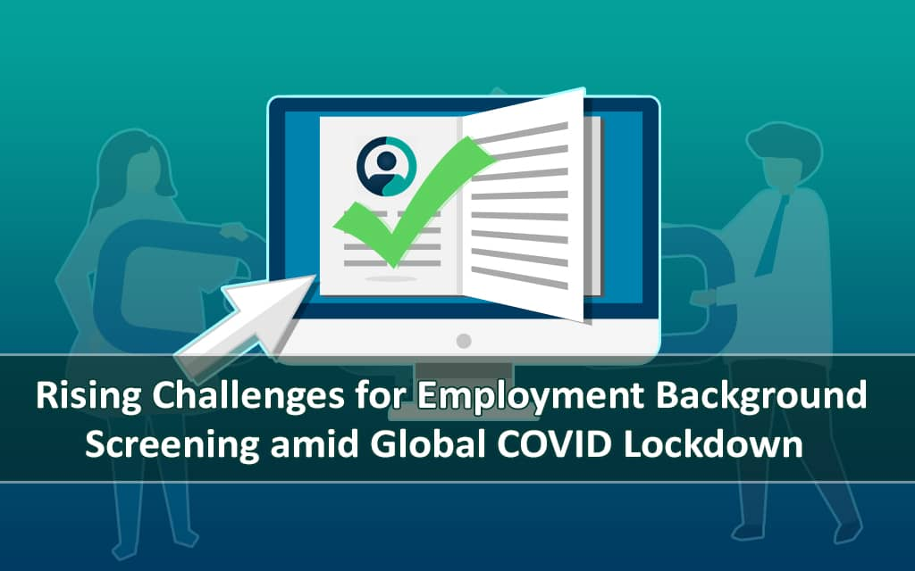 rising challenges in employment screening services